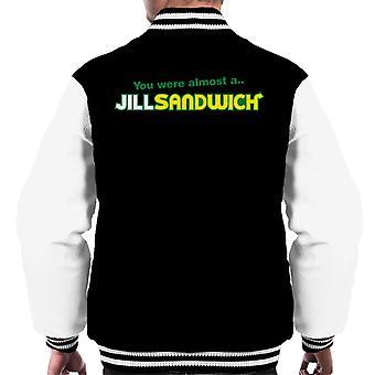 Jill Sandwich Resident Evil Men's Varsity Jacke
