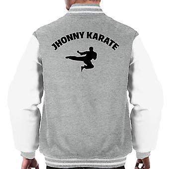 Jhonny Karate Parks And Rec Men's Varsity Jacket