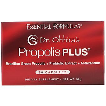 Dr. Ohhira's, Propolis Plus, 60 Capsules