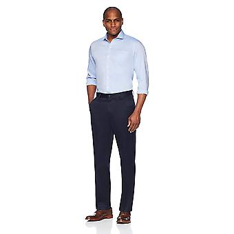 BUTTONED DOWN Men's Relaxed Fit Flat Front Stretch Non-Iron Dress Chino Pant,...