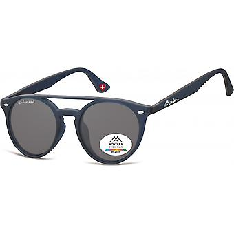 Sunglasses Unisex Panto Blue/Grey (MP49)