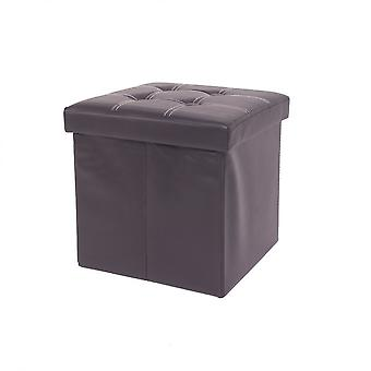 Rebecca Furniture Pouf Cube Folding Puff Saved BlackPeek Skin 38x38x38