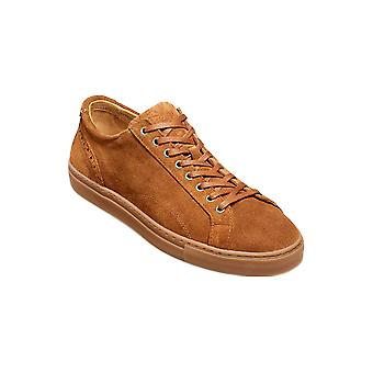 Barker Axel - Snuff Suede  | Mens Handmade Leather Sneakers | Barker Shoes