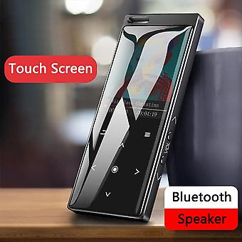 Bluetooth 4.0 Mp4 Player mit Lautsprecher Touch Button Lossless Hifi Music Player mit E-Book Fm Radio