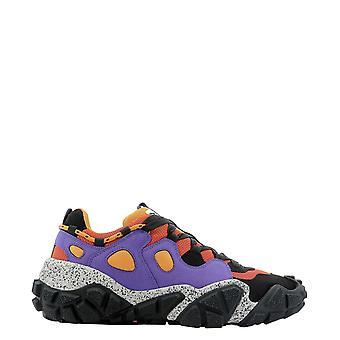 Acne Studios Bd0120multiorange Men's Multicolor Polyester Sneakers