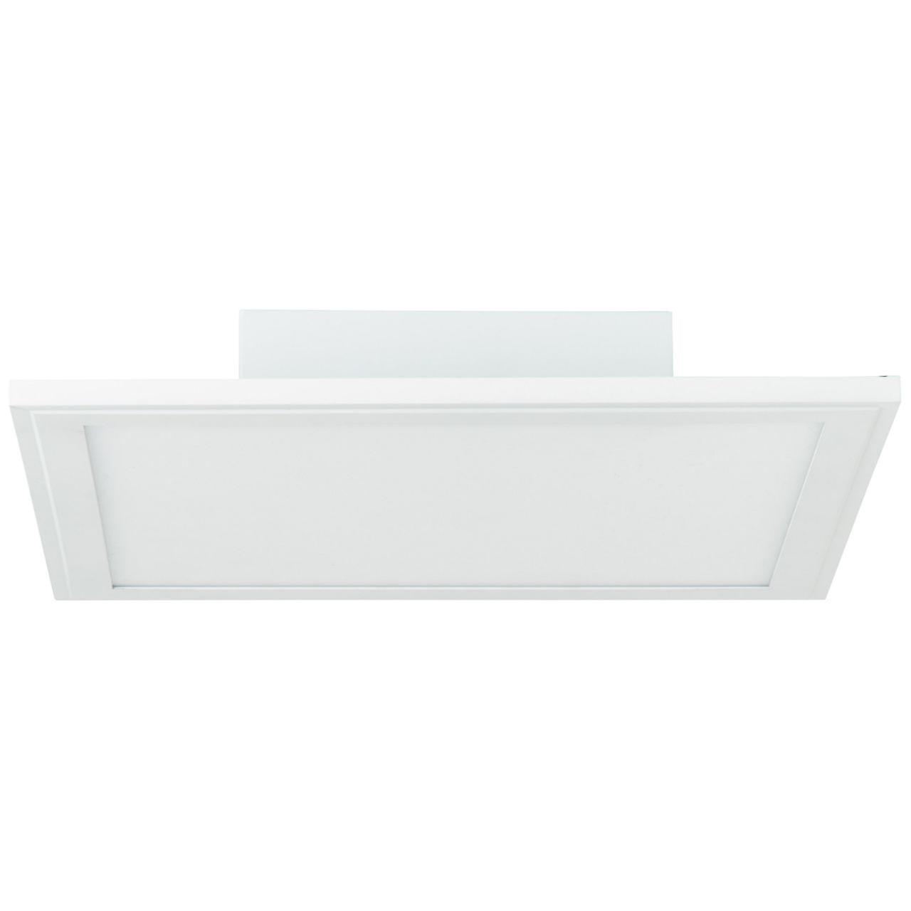 BRILLIANT Lampe Abie LED Deckenaufbau-Paneel 30x30cm RGB weiß | 1x 18W LED integriert, (1800lm, 2700-6200K) | Skala A++ bis E | Mit Fernbedienung steuerbar