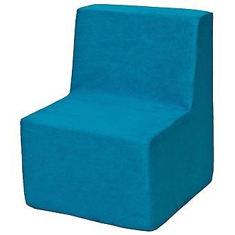 Kinderstoel meubel schuim blauw