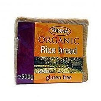 Biona - orgaanisten riisiä leipää 500g