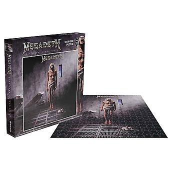Megadeth Jigsaw Puzzle Countdown To Extinction Album Cover Official 500 Piece