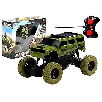 R/C Jeep Green 1:18 mit Fernbedienung