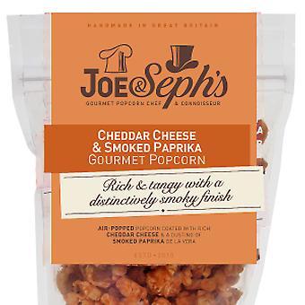 Cheddar & Rökt Paprika Popcorn