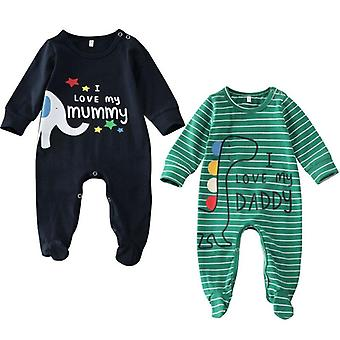 Baby Sleepwear Striped Robes, Unisex - Romper Jumpsuit Clothes