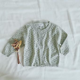 Wiosna Baby, Hollow Dzianina, Długi rękaw Sweter
