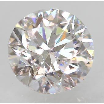 Zertifiziert 0.51 Karat D VVS1 Round Brilliant Enhanced Natural Loose Diamond 4.91m