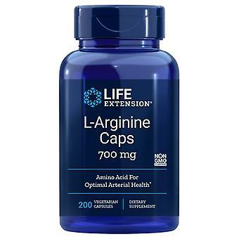 Life Extension L-Arginine, 700 mg, 200 vcaps