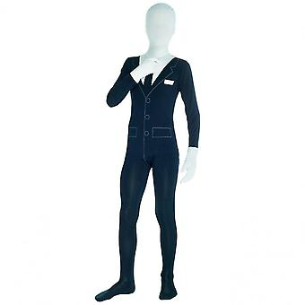 Morph Costumes Halloween Fancy Dress Costume Adult  - Business Or Slenderman