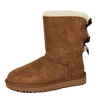 Ugg bailey bow ii women's chestnut boots
