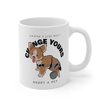 Zapisz na żywo zmieni Twoje-adoptować Pet Kubek