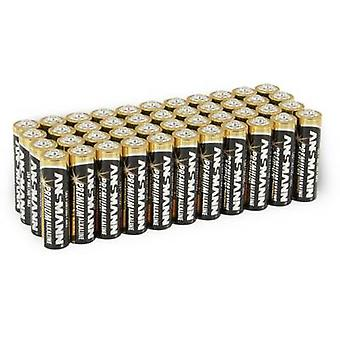 Ansmann LR06 AA bateria Alkali-manganês 1.5 V 44 pc(s)