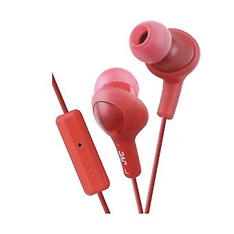 JVC HA-FR6 - Remote-controlled in-ear earbuds - Red
