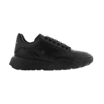 Alexander McQueen Sneake Leath.S.Rubb. Nappa Co. Musta 645887WHZ9A1000 kenkä