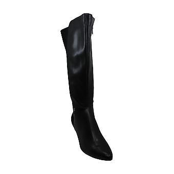 Alfani Women's Shoes Hakuup Leather Closed Toe Knee High Fashion Boots