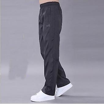 Casual Thin Polyester Track Easy Cuffless Trousers Joggers Streetwear Pantalon