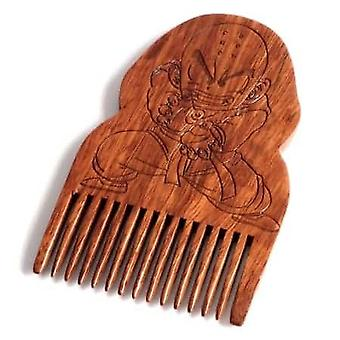 Dragon Ball Z Krillin Peigne barbe en bois