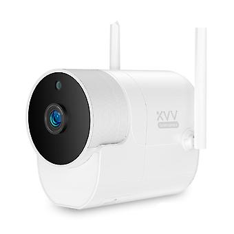 Smart Outdoor Camera - Waterproof With 150° Wide Angle And 1080p Wifi Night
