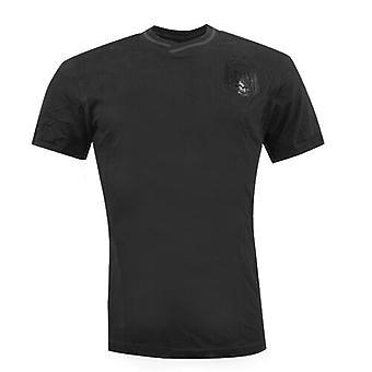 Adidas Performans AFA Arjantin Pamuk T-Shirt Tee Top Mens Siyah F40885 R1D