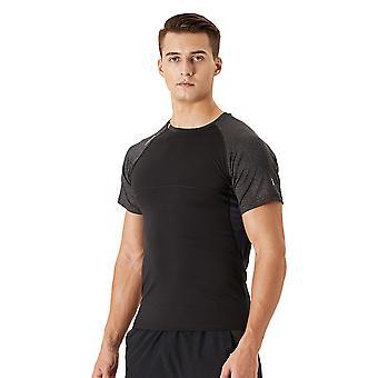 Män's Fitness Sport Topp H26