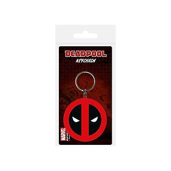 Deadpool Symbols Keyring
