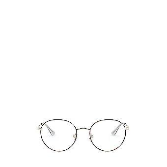 Vogue VO4177 top havana / pale gold female eyeglasses