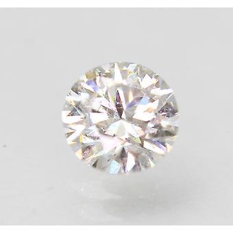 Sertifioitu 0,54 karat E VS1 pyöreä brilliant parannettu luonnollinen löysä timantti 5,29mm