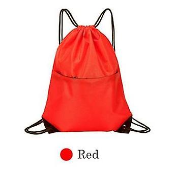 Waterproof Gym Sport Fitness Bag Foldable Backpack Shop Pocket Hiking Camping