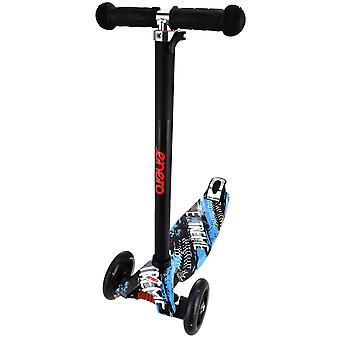 Dreiradroller blau - ABEC7 Lager - 47x23x78-90 cm