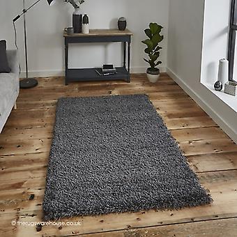 Vista dunklen grauen Teppich