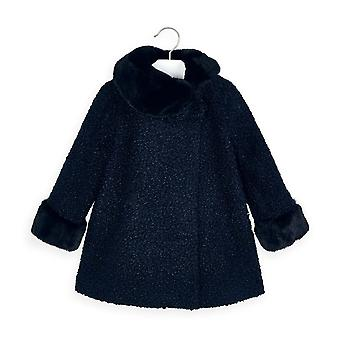 Mayoral girls navy coat 4411/52
