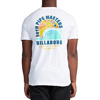 T-shirt à manches courtes Billabong Wave en blanc