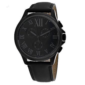Fossil Men's Monty Black Dial Watch - FS5641