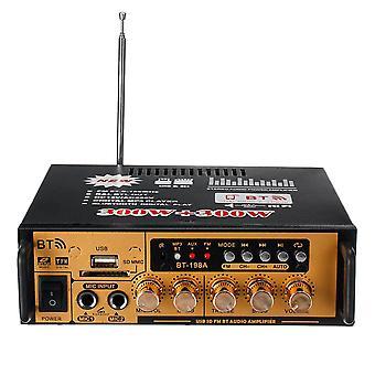 300W+300W Power Stereo Audio Amplifier bluetooth FM USB SD Home KTV FM Radio Music Player
