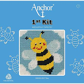 Anchor Tapestry Kit: 1st Kit: Bee