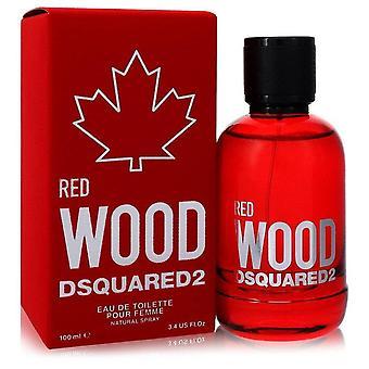 Dsquared2 Red Wood Eau De Toilette Spray By Dsquared2 3.4 oz Eau De Toilette Spray