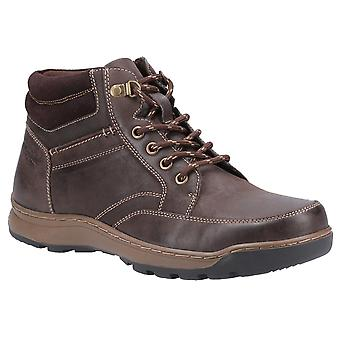 Hush puppies men's grover mens lace boots various colours 31283