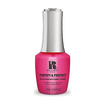 Red Carpet Manicure Fortify & Protect Gel Polish - Publicist In Pink