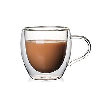 Double Wall Insulated Glasses Espresso Mug Witout Lid
