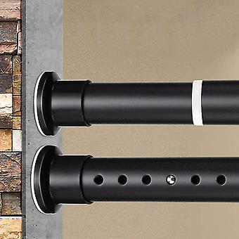 KINLOstange Teleskop Duschvorhangstange Kleiderstange 260-310cm aus Edelstahl Gardinenstange ohne