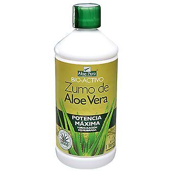 Aloe Pura Zumo de Aloe Vera Potencia Máxima 1 lt