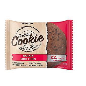 Weider Fudge Choklad Karamell proteinkakor 90 gr,