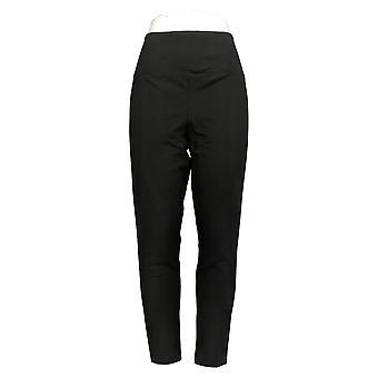 Kobiety z control shapewear regularne legginsy W / Powrót Zamek czarny A393300